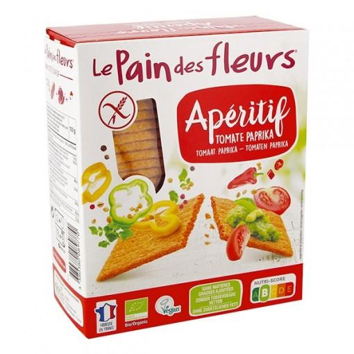 Le Pain des Fleurs Tomaat Paprika Crackers