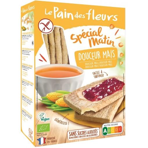 Le Pain des Fleurs Special Matin Mais Crackers