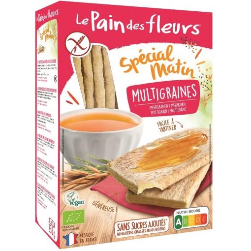 Le Pain des Fleurs Special Matin Meergranen Crackers