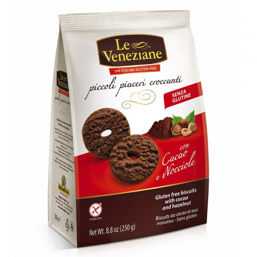 Le Veneziane Koekjes Cacao & Hazelnoot