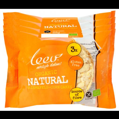 Leev Maiswafels 4-pack