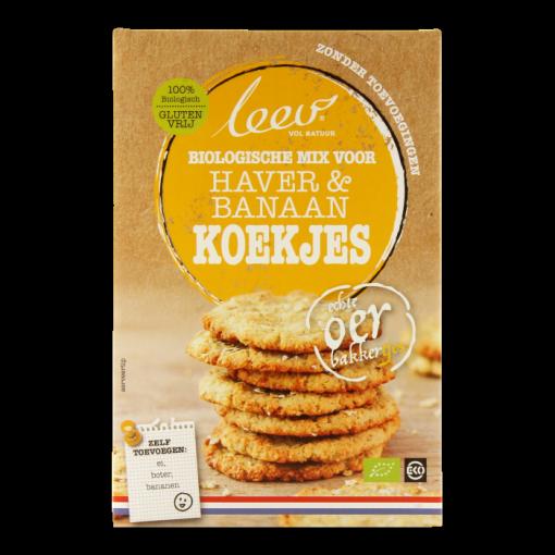 Haver & Banaan Koekjes Bakmix