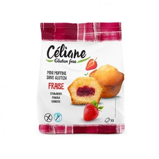 Les Recettes de Céliane Mini Muffins Aardbei
