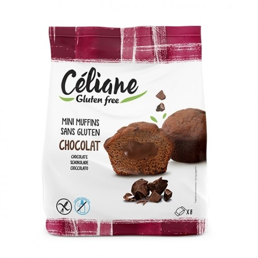 Les Recettes de Céliane Mini Muffns Chocolade