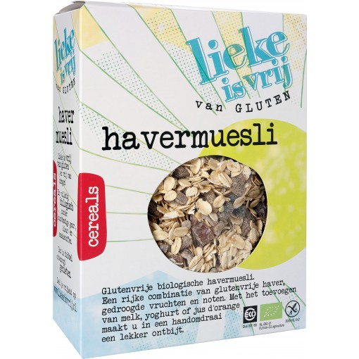 Lieke is vrij Havermuesli