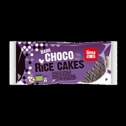 Lima Rijstwafels Pure Chocolade