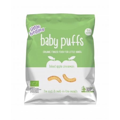 Little Bellies Baby Puffs Apple Cinnamon