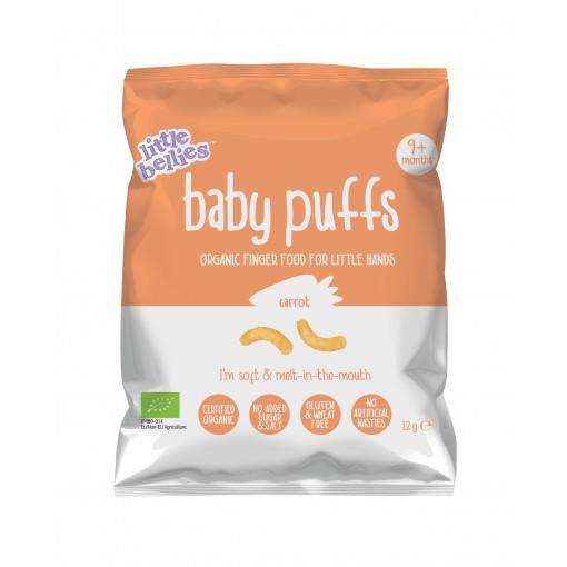 Little Bellies Baby Puffs Carrot