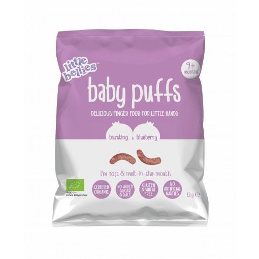 Little Bellies Baby Puffs Bluebberry