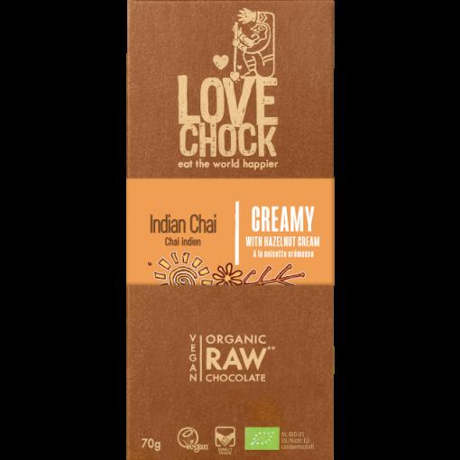 Lovechock Chocoladetablet Indian Chai Creamy