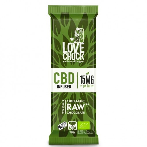 Lovechock Chocoladereep CBD Infused