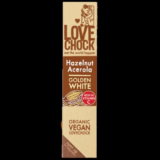 Lovechock Chocoladereep Hazelnut/Acerola
