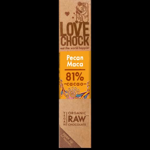 Lovechock Chocoladereep Pecan/ Maca