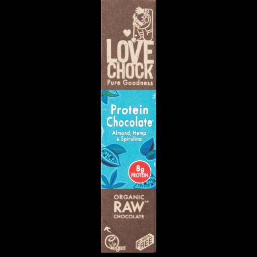Lovechock Chocoladereep Protein Chocolade