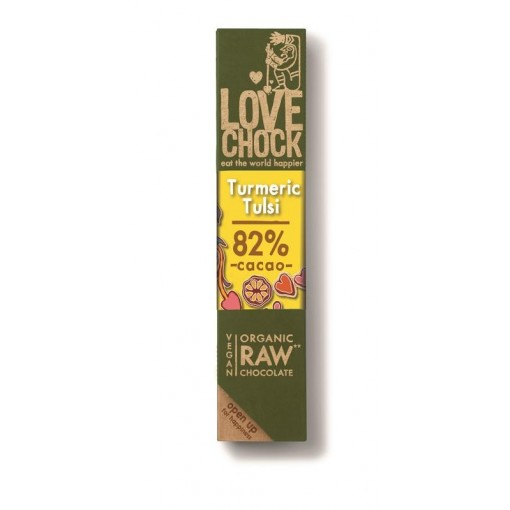 Lovechock Chocoladereep Turmeric Tulsi