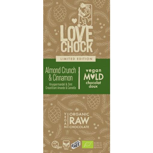 Lovechock Chocoladetablet Almond Crunch & Cinnamon