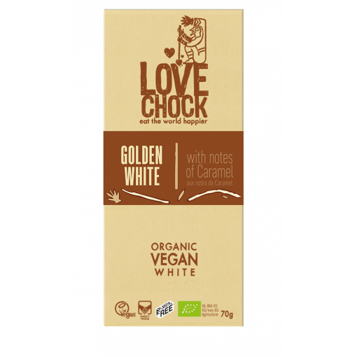 Lovechock Chocoladetablet Golden White