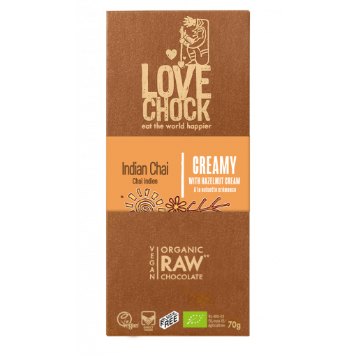 Lovechock Chocoladetablet Indian Chai Creamy