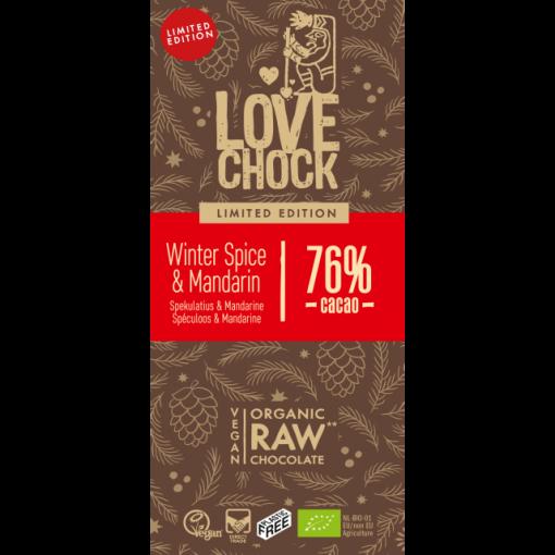 Lovechock Chocoladetablet Winter Spice & Mandarin