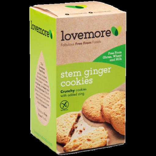 Lovemore Stem Ginger Cookies