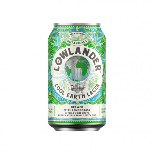 Lowlander Cool Earth Lager 4.0%