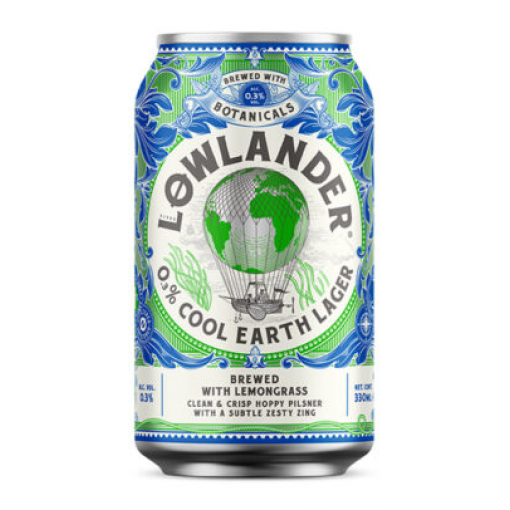 Lowlander Cool Earth Lager 0.3%