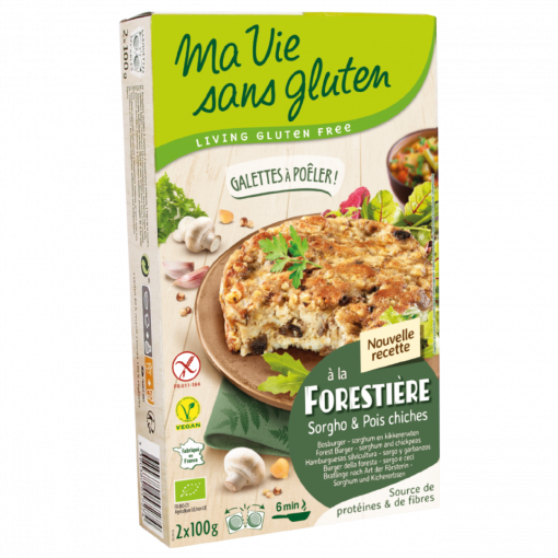Ma Vie Sans Gluten Bosburger Sorghum & Kikkererwten