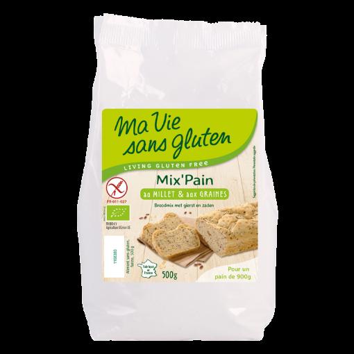 Ma Vie Sans Gluten Broodmix Met Gierst & Zaden