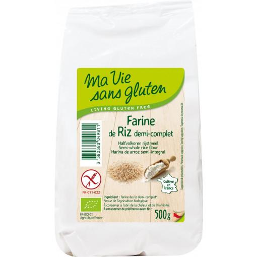 Ma Vie Sans Gluten Halfvolkoren Rijstmeel