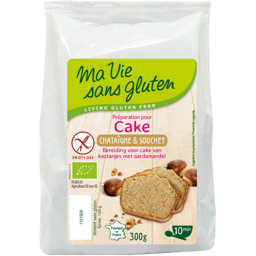 Ma Vie Sans Gluten Cakemix Kastanje Aardamandel