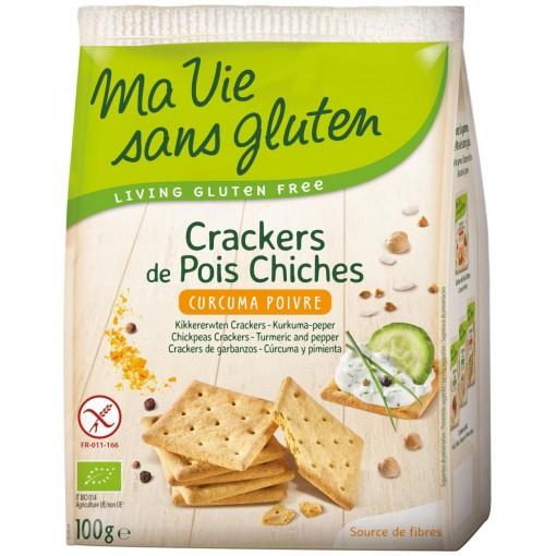 Ma Vie Sans Gluten Kikkererwten Crackers Kurkuma Peper