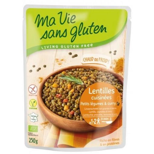 Ma Vie Sans Gluten Linzenschotel Groenten & Kerrie