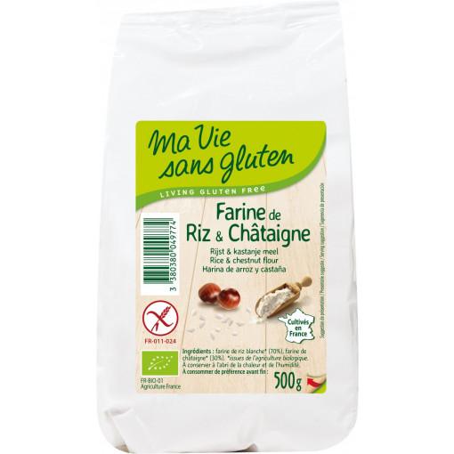 Ma Vie Sans Gluten Rijst & Kastanjemeel