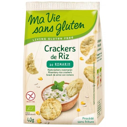 Ma Vie Sans Gluten Rijstcrackers Rozemarijn