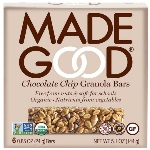 Made Good Granola Bars Chocolate Chip