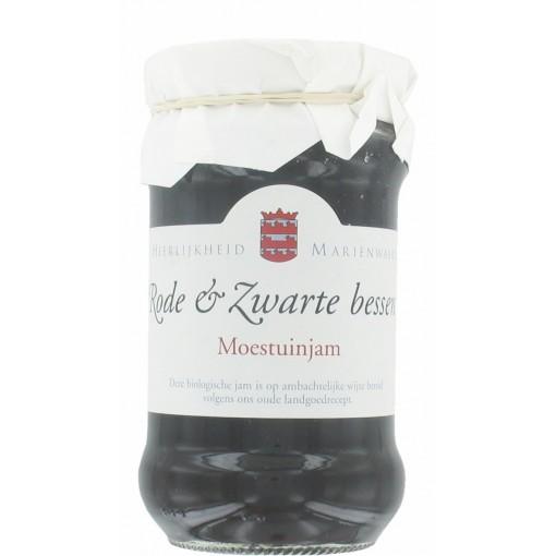 Moestuinjam Rode & Zwarte Bessen