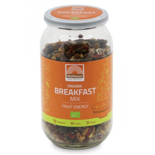 Mattisson Breakfast Mix Fruit Energy