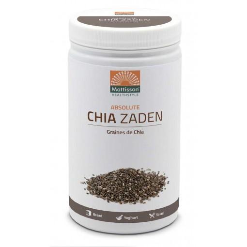 Mattisson Absolute Chia Zaad Raw 500 gram