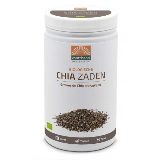Mattisson Absolute Chia Zaad Raw Biologisch 1000 gram