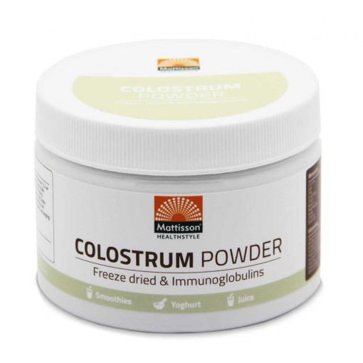 Mattisson Absolute Colostrum Powder 30% IgG fd 125 gram