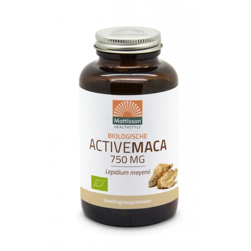 Mattisson Active Maca 750 mg - The Inca Superfood