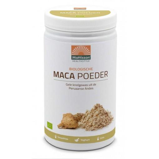 Mattisson Active Maca Poeder Biologisch 1000 gram