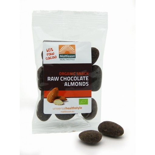 Mattisson Bio Amandelen Raw Choco Snack