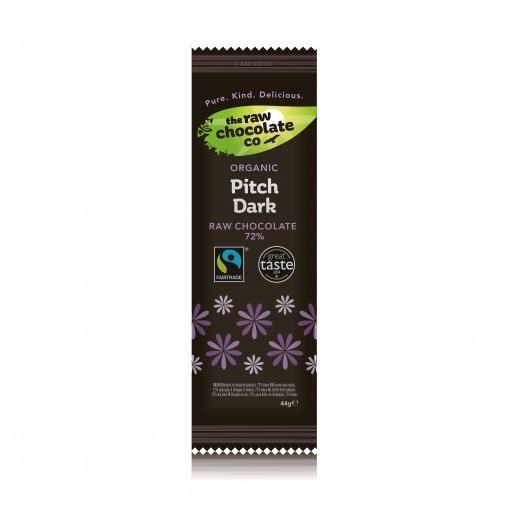 Mattisson Chocolade Reep Pitch Dark Raw