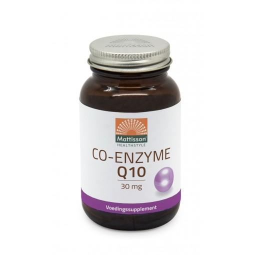Mattisson Co-Enzyme Q10 30-mg