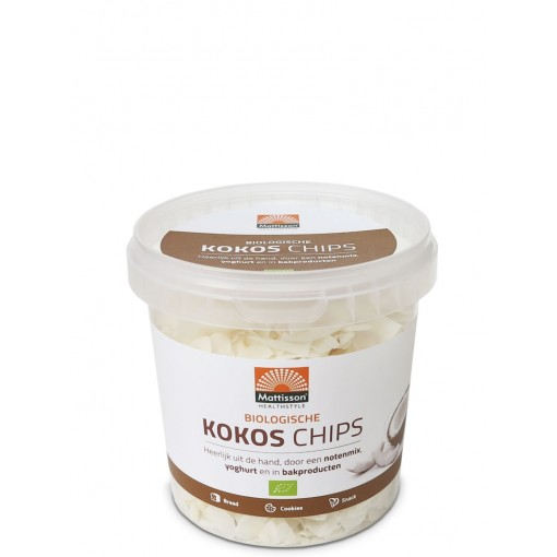 Mattisson Kokos Chips Biologisch