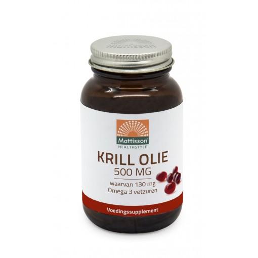 Mattisson Krill Olie 500 mg