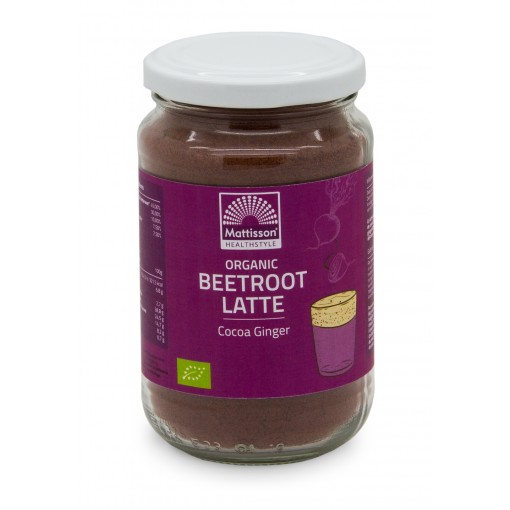 Mattisson Beetroot Latte Gember - Cacao