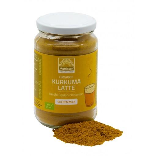 Mattisson Kurkuma Latte Goldenmilk Reishi - Ceylon Kaneel