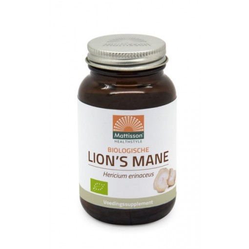 Mattisson Lion's Mane 500 mg